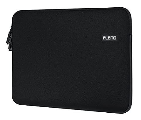Laptop Sleeve, PLEMO Water-Resistant Soft Neoprene 13 - 13.3 Inch Laptop Case Sleeve Cover Bag for 12.9 iPad Pro / 13.3 Inch MacBook Air / MacBook Pro / Pro Retina / Notebook Computer / Tablet PC / Ultrabook / Chromebook,