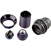 REV Ritter 0503020555 Fassung E 14 ISO, schwarz