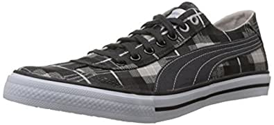 Puma Unisex 917 Gr Lo DP Dark shadow, Vapor blue and White Canvas Sneakers - 10 UK