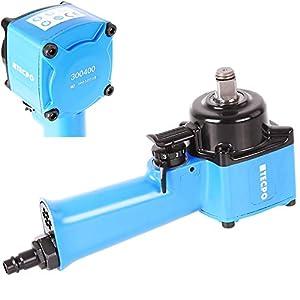 TECPO Mini Druckluft Schlagschrauber 1/2 Zoll Jumbo-Hammer 650 Nm Druckluftschrauber Gewicht nur 1,12 kg und 85 mm Breit
