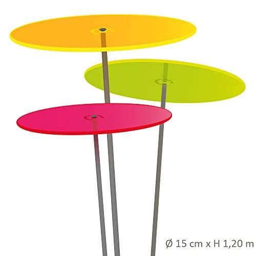 Cazador-del-sol Lot de MEDIO – Tres – Lot de 3 attrape-soleil Multicolore 1,20 mètres de haut – L'original