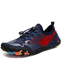 Kivors Zapatos de Agua Transpirables Unisex Zapatos de Playa Secado Rápido Descalzo para Playa Aire Libre