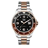 Ice-Watch - Ice Steel Chic Silver Rose-Gold - Montre Argent Mixte avec Bracelet en...