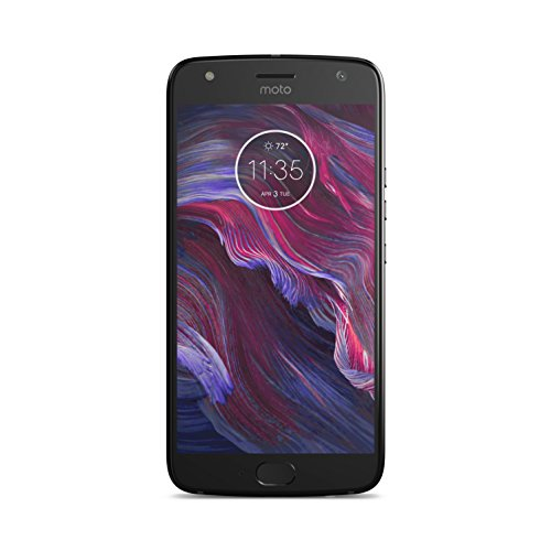 "Motorola Moto X4 - Smartphone de 5.2"" (3 GB de RAM, memoria interna de 32 GB, doble cámara de 12 y 8 MP, Bluetooth 4.2, resistente al agua y al polvo, Snapdragon 630) Negro (Super black) - Exclusivo Amazon"