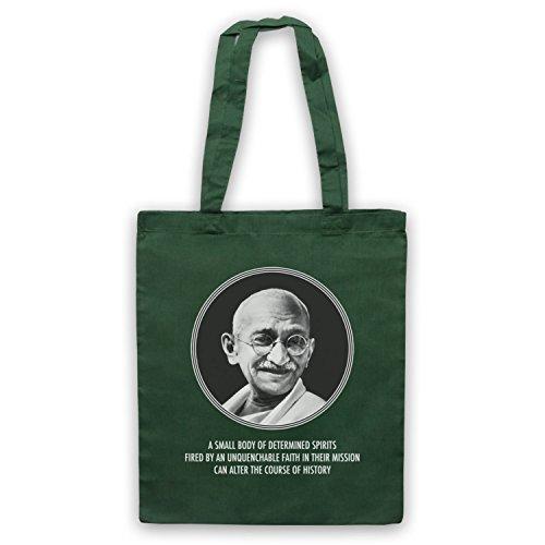 Gandhi Mahatma Umhangetaschen Dunkelgrun