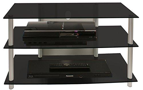 tv rack schwarzglas preisvergleich die besten angebote online kaufen. Black Bedroom Furniture Sets. Home Design Ideas