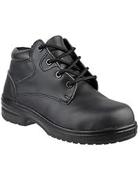 Amblers - Calzado de protección para hombre, color negro, talla 36.5