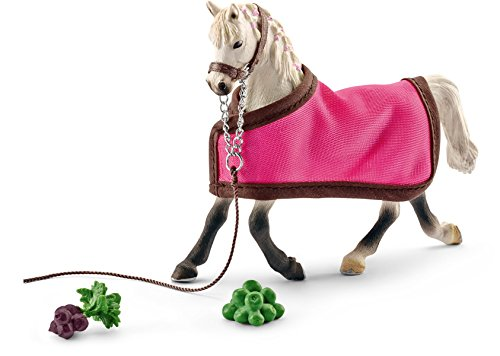 Horse Club Schleich Arab Mare Toy with Blanket