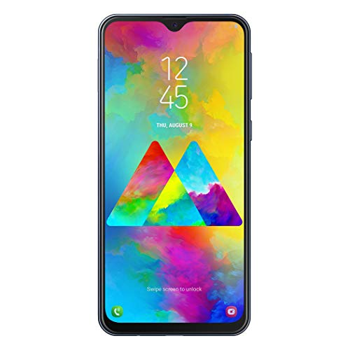 Samsung Galaxy M20 Smartphone, Grigio (Charcoal Black), Display 6.3