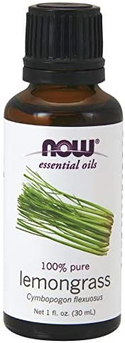 NOW Solutions Lemongrass Oil 1 oz 100%Pure