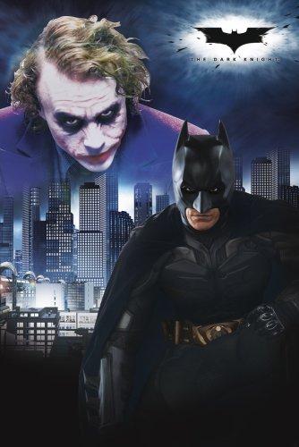 GB eye, Batman, Dark Knight, Duel, Maxi, Poster, Affiche (61x 91.5cm) Fp2056