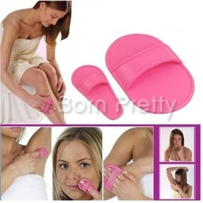 New 2007 Products 1 Set Hand Manual Smooth Legs Skin Pads Arm Face Hair Remover Exfoliator Sandpaper # 26281