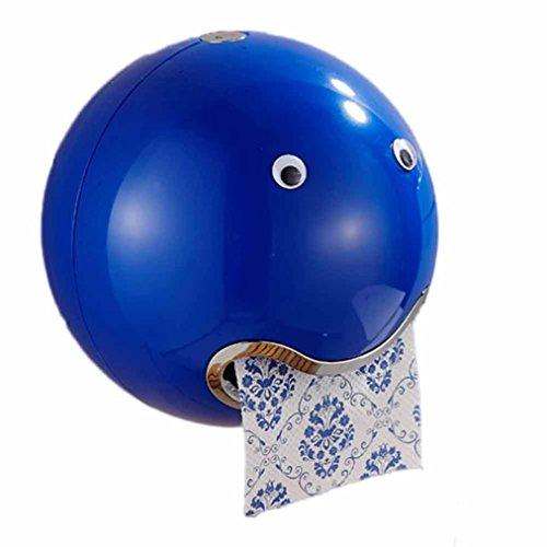 HKFV Ball Shaped Nette Emoji Bad Wc Wasserdichte Toilettenpapier Box Rolle Sauger Toilettenpapier Box Schublade Gewebebox Halter Spitze Toilettenpapierbox (Kostüm Xbox Diy)