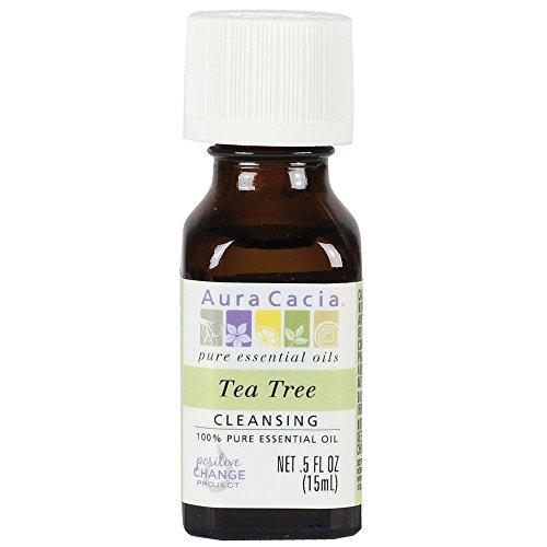 Aura Cacia Essential Öl Teebaum (3er Pack) 15 ml
