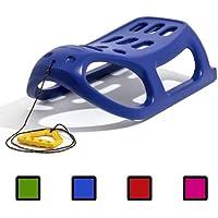 Prosperplast - Trineo (85 x 46 x 46 cm, 2,5 kg, asiento de 58 x 31 cm, carga máxima 120 kg, plástico y metal) azul azul