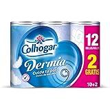 Colhogar–dermia–Papier toilette 2couches avec Aqua...