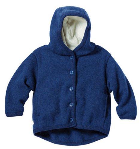Disana 32304XX - Walk-Jacke Wolle marine, Size / Größe:86/92 (1-2 Jahre)