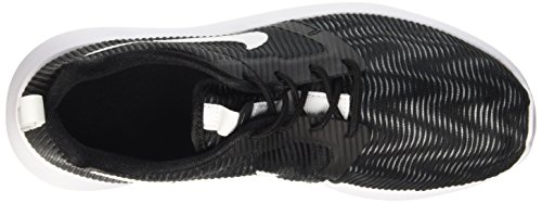 Nike Roshe One Flight Weight (Gs), gymnastique mixte enfant Noir (Noir/Blanc)