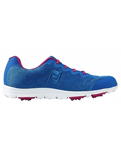 Footjoy Damen Enjoy 95707065M Golfschuhe blau, 37