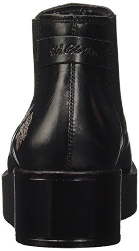 U.S.POLO ASSN. Sapphire Leather, Stivali Chelsea Donna Nero