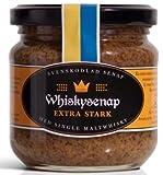 Hovdelikatesser Whisky Senf - extra scharf aus Schweden 185 g (mit 12 Jahre...