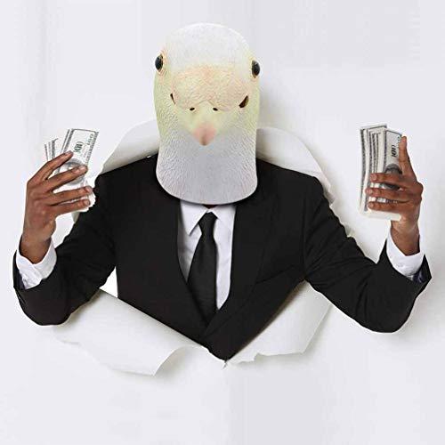 Kontakt Himmel Kostüm - KTSKT Latex Animal Mask Taube, Karneval und Halloween Cute Animal Dress up (Kinder?)