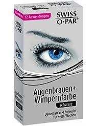 Swiss O Par Augenbrauen und Wimpernfarbe schwarz