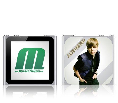 MusicSkins Justin Bieber I Heart JB Hülle für Apple iPod Nano 5G (Justin Bieber Ipod)