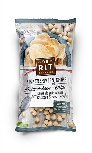 De Rit Kichererbsen-Chips mit Meersalz (75 g) - Bio