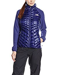 The North Face W Thermoball Hybrid Hoodie EU - Sudadera para mujer, color azul, talla M