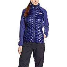 The North Face W Thermoball Hybrid Hoodie EU - Sudadera para mujer, color azul, talla L