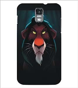 SAMSUNG GALAXY S4 MINI LION Designer Back Cover Case By PRINTSWAG