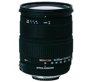 Sigma Objectif 18-200 mm F3,5-6,3 DC OS HSM - Monture Nikon
