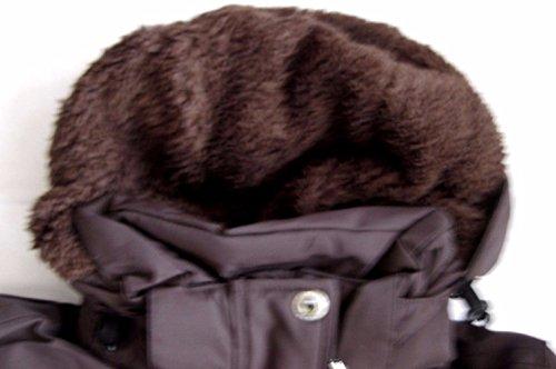 Exxtasy catlins manteau pour femme - coffe brown