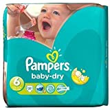 Pampers Baby Dry taille 6 (15  + kg) Extra Large x 44 par paquet