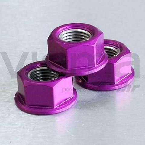 PRO-BOLT - 50106 : Tuerca De Aluminio 12Mm Violeta Lspn12P