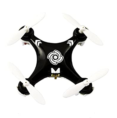 GARY&GHOST Cheerson CX-10A Mini Headless Mode 2.4G 4CH 6 Axis Gyro UFO Drone RC Quadcopter Helicopter RTF Black
