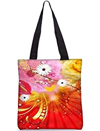 Snoogg Tote Bag 13.5 X 15 Inches Shopping Utility Tote Bag Made From Polyester Canvas - B01GCIKQDE