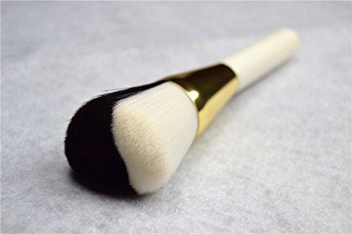 XUAN Pinceaux de maquillage en forme de double-coeur du visage poudre peinture réparation capacité haute-brosse