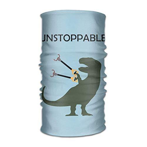 Uosliks Dinosaurier Unaufhaltsame T-Rex Unisex-Variety Schal Wrap Bandanna Headwear Hals Gamaschen Kopf Schal Gesichtsmasken