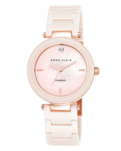 anne-klein-womens-alice-quartz-watch-with-rose-gold-dial-analogue-display-and-pink-ceramic-bracelet-