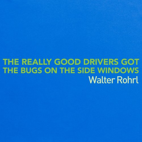 Really Good Drivers T-Shirt, Herren Royalblau