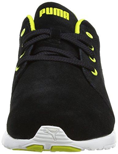 Puma 188935, Chaussures de Gymnastique Homme Black/Sulphur Spring/White