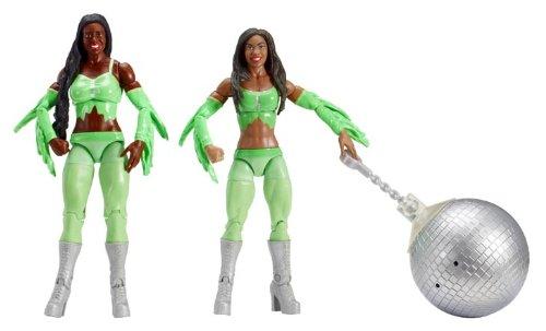 Figur WWE Naomi & Cameron Battlepack Serie