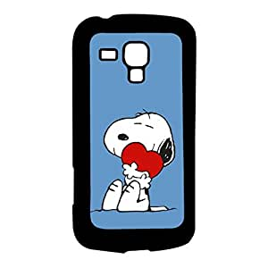 Mobile Cover Shop Glossy Finish Mobile Back Cover Case for Samsung S Duos