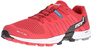 Inov-8 Men's Roclite 290 Trail Runner, Red/Black/White, 11.5  US