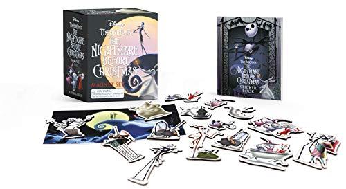 Tim Burton's The Nightmare Before Christmas Magnet Set (Halloween Burton-film Tim)