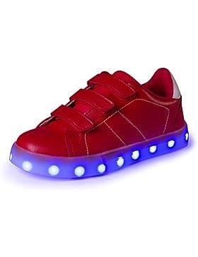 Muchachos Aemember' Sneakers Confort iluminan zapatos ette Verano Otoño Casual talón plano Oro blanco negro Ruby...