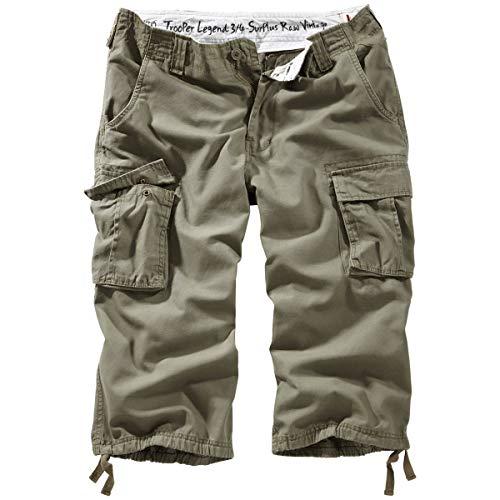Surplus Trooper Legend 3/4 Shorts XXL Oliv (Tragen Shorts)