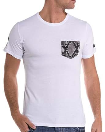 Sixth June - T shirt blanc imprimé manches courtes - couleur: Blanc - taille: XS